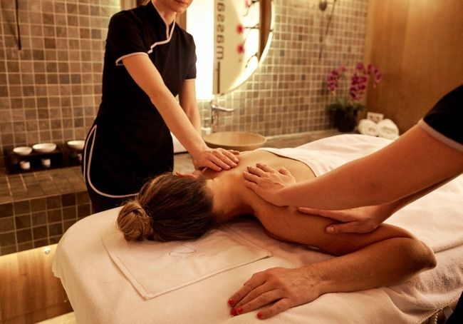 Massage therapy at Harmony Spa Budapest